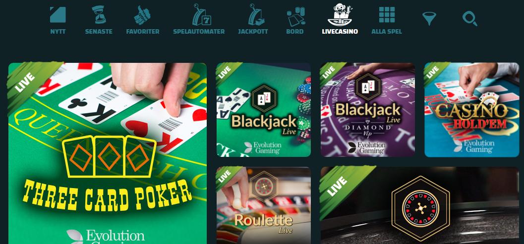 ikibu live casino bonus